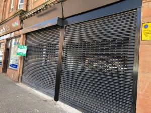Door entry systems - Glasgow - Aluminium - Shop Fronts - Shop Fitting