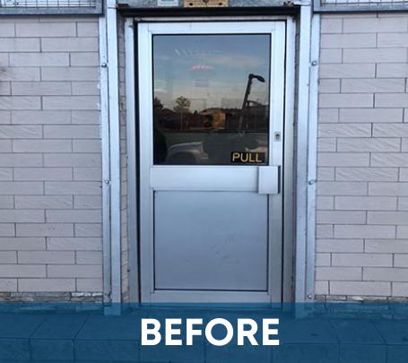Shop Door Replacement - Scotland