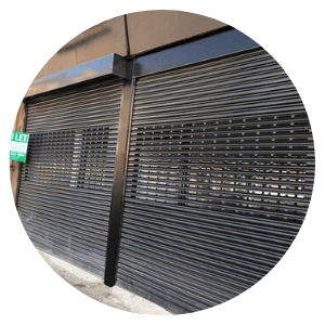 Shutters Installed by Glasgow Aluminium Shop Fronts - Shop front - Repairs
