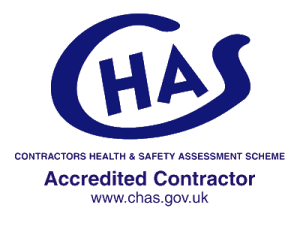 CHAS Accreditations - GASF Glasgow Shop Fronts - Manufacturing and Installation - contractors health and safety assessment scheme