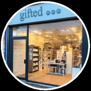 gift shop front - installation repairs shopfitting - fitouts - glasgow aluminium - scotland
