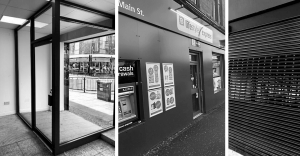 shop front installation and manufacturing - Glasgow Aluminium Shop Fronts - Bifold - sliding doors - shutters - glass - scotland
