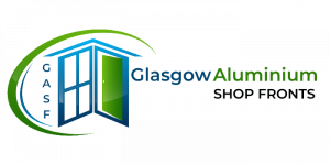 GASF Glasgow Aluminium Shop Fronts Logo - Shop Fronts - Shop Fitting - Scotland
